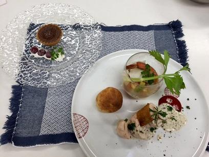 ⑤野菜たっぷり秋の創作料理コース イメージ