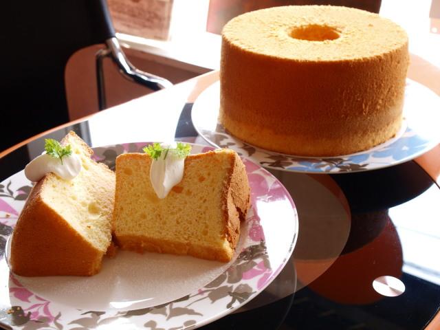 ふわふわシフォンケーキ作りコース イメージ