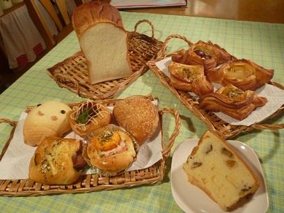 ②秋の味覚たっぷりパン♪コース イメージ