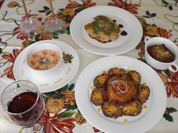 季節のお料理*洋食コース