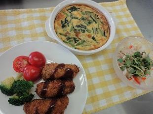 土曜日の家庭料理コース イメージ