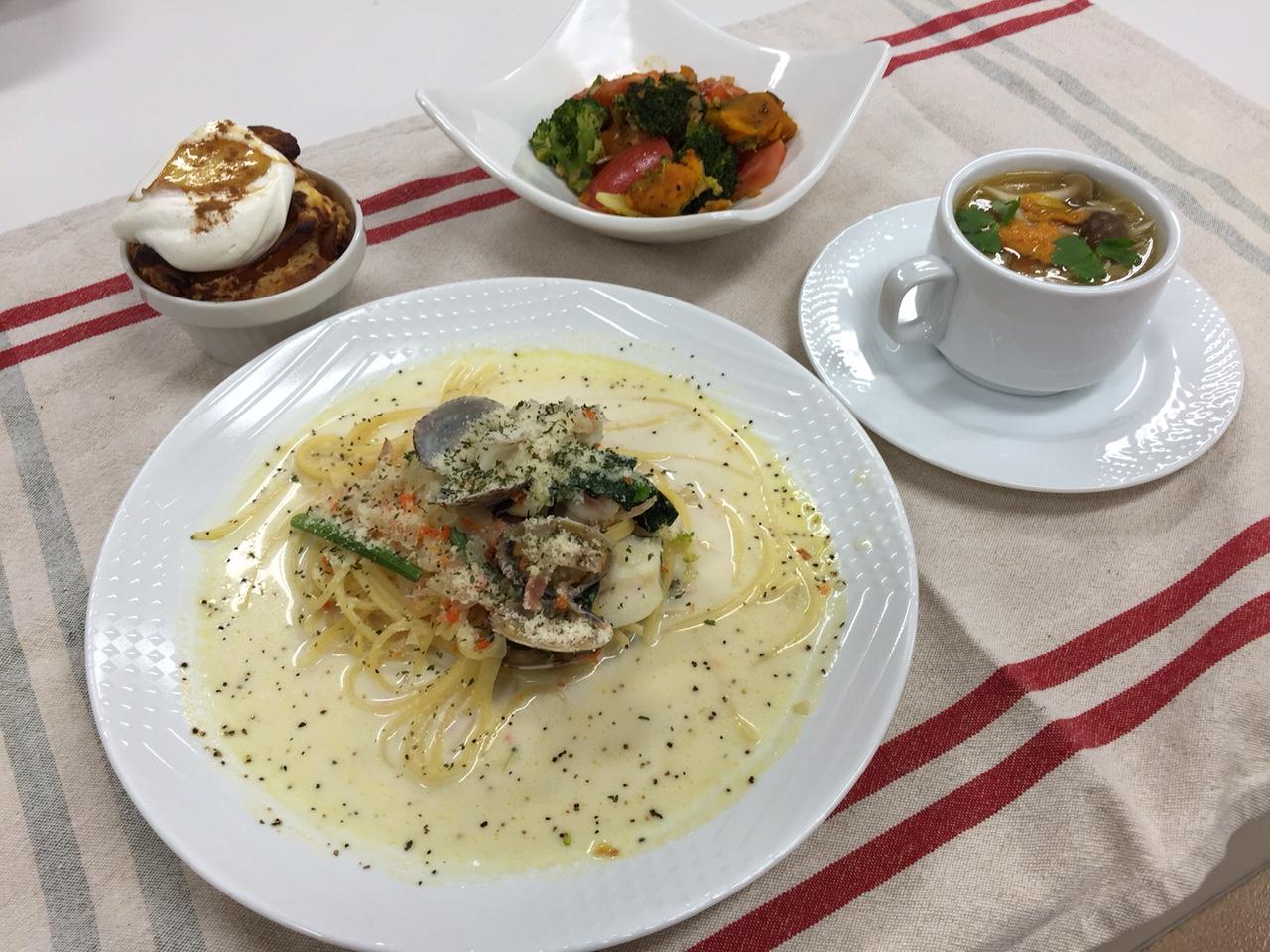 秋の簡単おもてなし料理たっぷり野菜のフルコース イメージ