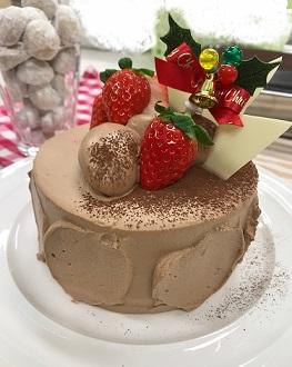 手づくりクリスマスケーキコース イメージ