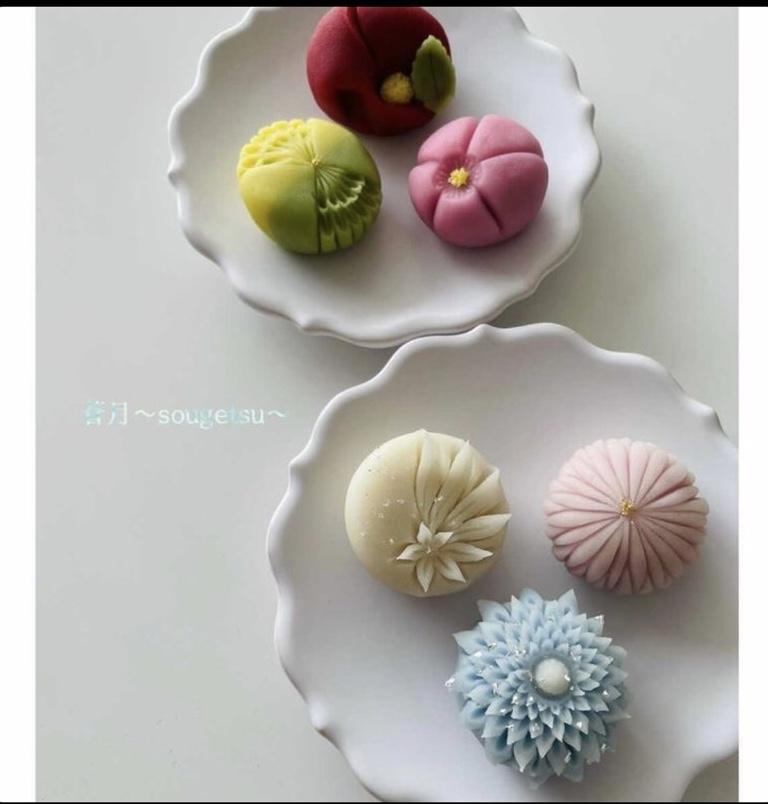 季節の練り切り(上生菓子) work shop イメージ