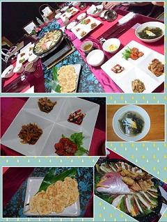 ③韓国の家庭料理とお菓子コース(1回コース) イメージ