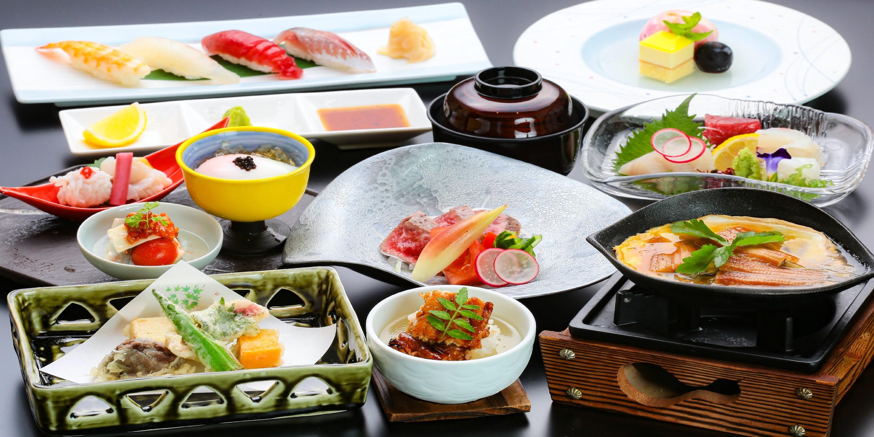 お手軽な日本料理 ※全コースの中から3コースまでお申込みできます。 イメージ