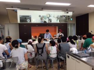 夏休み親子でケーキ作りコース イメージ