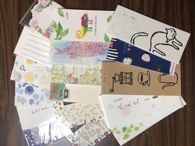 Ⓐペン字教室~贈り物に一言添える一筆箋~《1回コース》⑪ イメージ