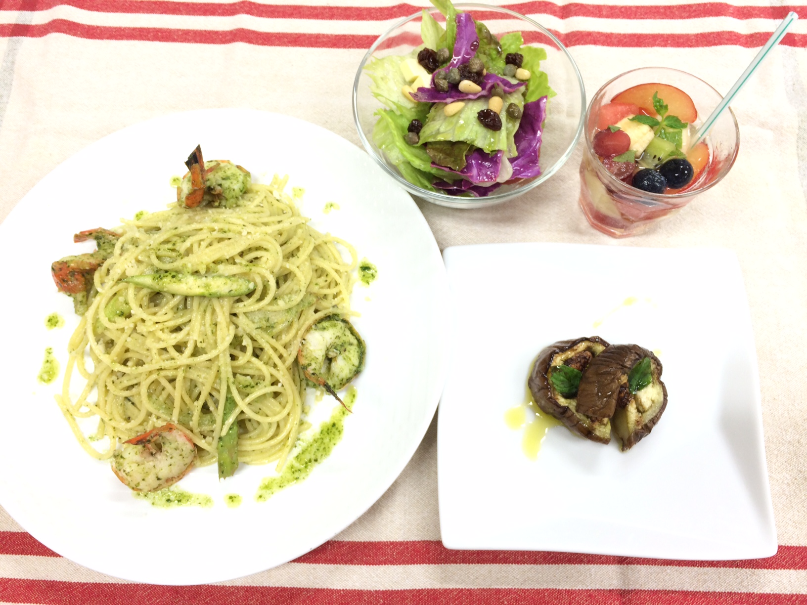 ③オリーブオイルの簡単料理コース イメージ
