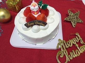 「今年はおうちでクリスマスケーキに挑戦」コース イメージ