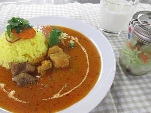 スパイスで本格的に!南インド風の薬膳カレーコース ※全コースの中から3コースまでお申し込みできます。 イメージ