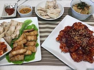 ⑨定番の韓国料理 参鶏湯とチヂミ《1回コース》 イメージ