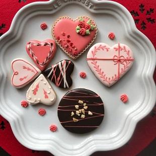 小さなクッキーに想いをのせて アイシングクッキー1dayレッスン イメージ