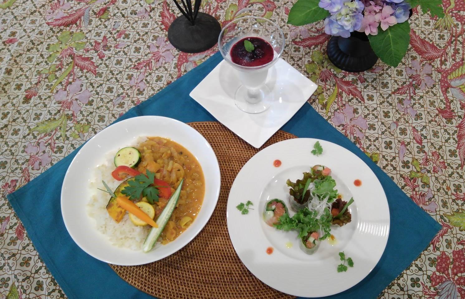 アジアン風 おもてなし料理 ※全コースの中から3コースまでお申込みできます。 イメージ